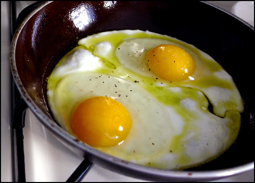 Eggs Andalusian Style